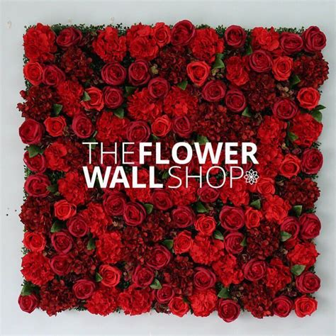 red rose wall   touch  greenery  ordering