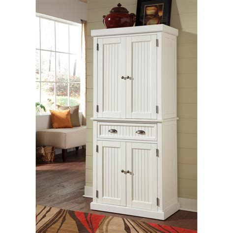 white pantry storage cabinet kitchen cabinet white distressed finish pantry home