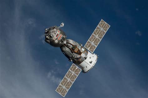 The Soyuz TMA-12M Spacecraft Departs
