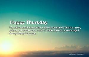 Good Morning Thursday Quotes Messages and Wishes