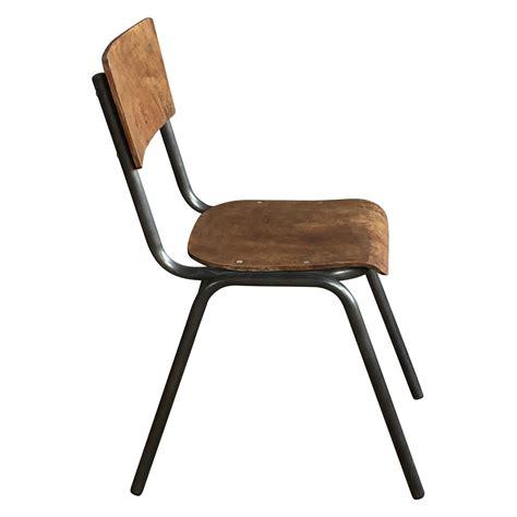 chaise d écolier chaise d 39 ecolier style vintage industriel demeure et jardin