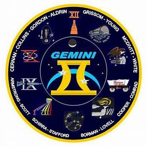 Gemini Mission Insignia Space - Pics about space