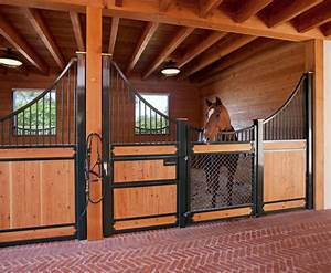 custom horse barn and arena by leonard unander associates With custom horse stalls