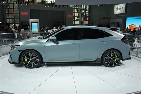 Civics At The 2016 Nyias (coupe, Hatchback Concept, Rally