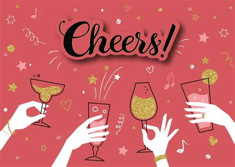 cheers congratulation cards quotes send real