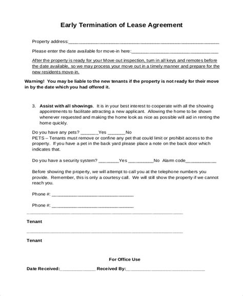 sample lease agreement form   documents