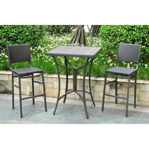 tall outdoor bistro table set furniture outdoor bar table ebay outdoor patio pub table
