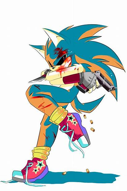 Edgy Hedgy Sonic Deviantart Exe Games Fan