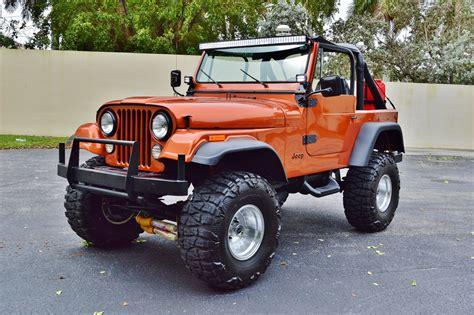 cj jeep wrangler 1979 jeep cj 7 sport wrangler 4 4 lifted custom suv real