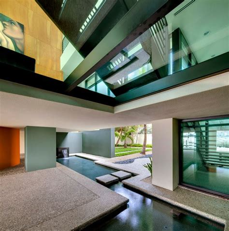 entry water feature 10 rooms with an indoor water feature