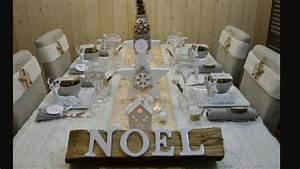 Table De Fete Decoration Noel : comment faire la plus belle table de no l jour de l 39 an ~ Zukunftsfamilie.com Idées de Décoration