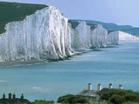 Beachy Head and Seven Sisters Cliffs, East Sussex, England ...