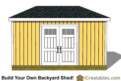 8x16 shed floor plan 8x16 hip roof shed plans