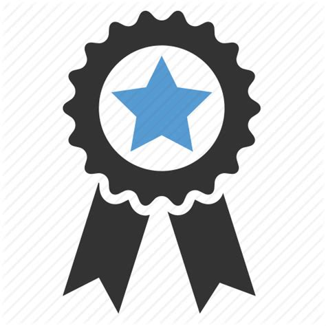 icons at top achievement award badge excellent favorite quality