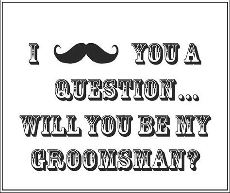 printable     groomsman gift box insert
