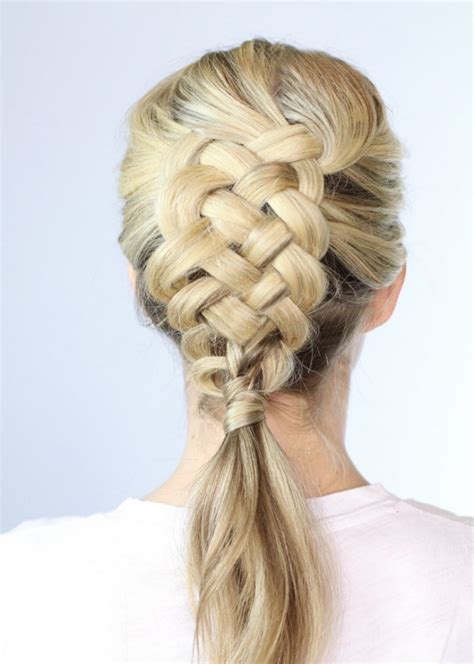Plait Hairstyles For Hair by 38 Intricate Plait Hairstyles Hairstylo