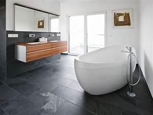 Fliesen Im Badezimmer : kundenfoto schiefer fliesen mustang verlegt im ~ Sanjose-hotels-ca.com Haus und Dekorationen