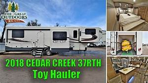 Small Fifth Wheel Toy Hauler