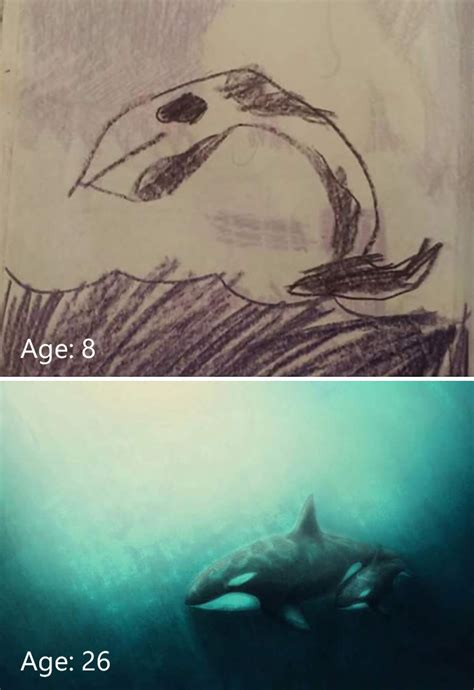 post   drawings showing  progress