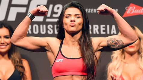 claudia gadelha won t be ready to return until february 2016 fox sports