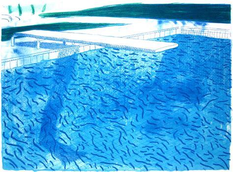 David Hockney, Swimming Pools And The