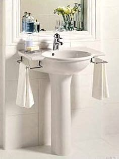 Pedestal Sink For Small Bathroom by 20 Clever Pedestal Sink Storage Design Ideas Bathroom