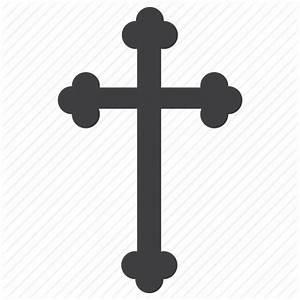 Christian cross, cross, crucify, motif cross icon | Icon ...