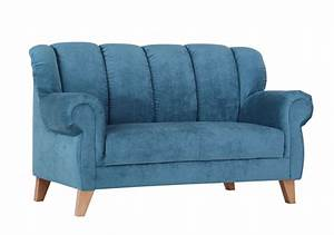 2 Sitzer Sofa Landhausstil : sofa 2 sitzer dinner blau sb m bel discount ~ Bigdaddyawards.com Haus und Dekorationen