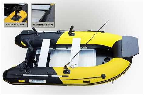 Fishing Boat And Motor Packages by 10 Ft Inflatable Fishing Boat Delux Package Aquamarine