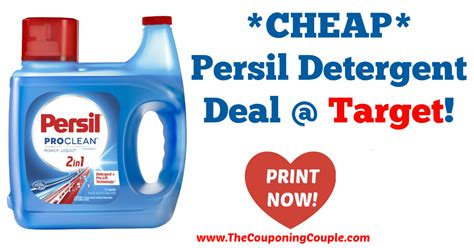 *CHEAP* Persil Detergent Deal @ Target!