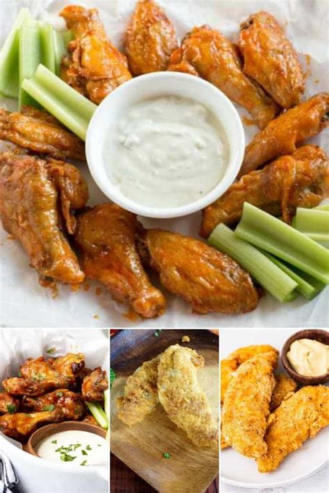 fryer air chicken tenders paleo keto coconut flour recipe wings recipes buffalo carb low ever