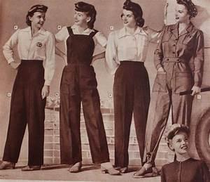 Women U0026 39 S 1940s Pants Styles
