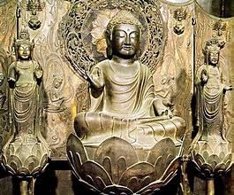 法隆寺阿弥陀三尊像 に対する画像結果