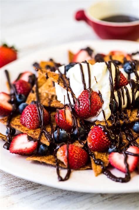 strawberry dessert nachos recipe california strawberry