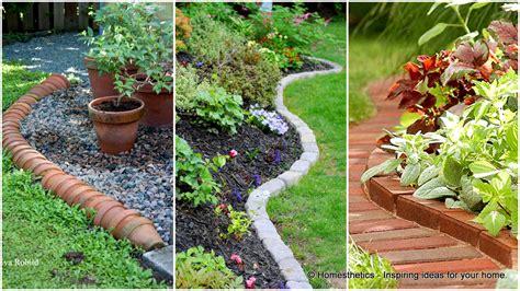 cheap garden ideas 17 simple and cheap garden edging ideas for your garden