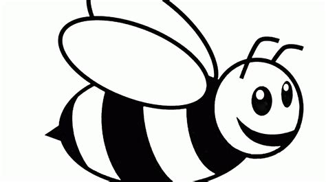 Coloring Bee by Bumble Bee Coloring Pages