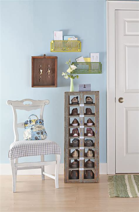 front door shoe organizer clever storage ideas you never thought of decorating 3660