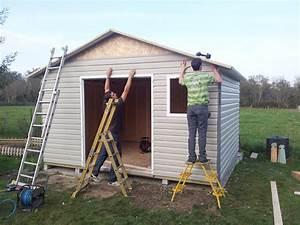 Abri Jardin Sur Mesure : abri la romagne fabricant d 39 abri de jardin en bois sur mesure ~ Melissatoandfro.com Idées de Décoration