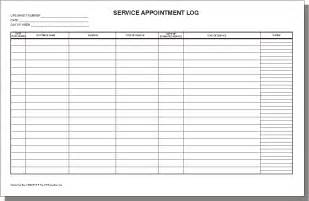 Service Template Excel 3 Excel Service Log Templates Excel Xlts