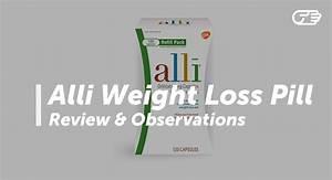Alli Weight Loss Pill Reviews