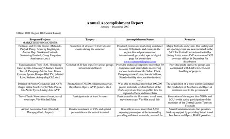 employee accomplishment report sample how to write a weekly sales report