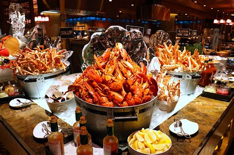 Hookededge Seafood Buffet Pan Pacific Hotel Singapore