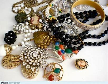 Jewelry Antique Sieraden Prom Shine Een Possession
