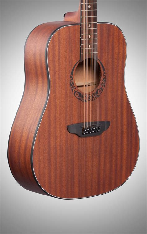 Luna Gypsy Dreadnought Acoustic Guitar, 12-String | zZounds
