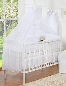 Moustiquaire Ciel De Lit : ciel de lit en moustiquaire grand format coeur blanc ~ Dallasstarsshop.com Idées de Décoration