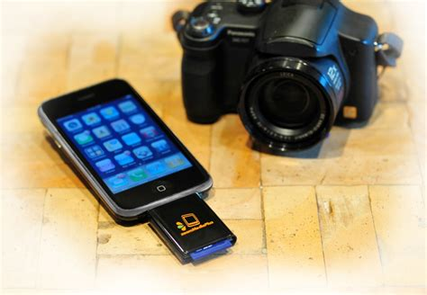 an sd memory card adapter for your iphone venturebeat