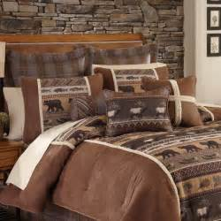 croscill caribou 4 piece comforter set free shipping today overstock com 21831702