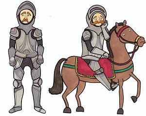 Sad Knights Illustration By Claire Murray Pictures