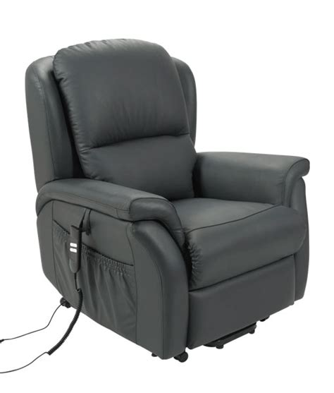 stella electric recliner lift chair leather motor