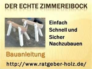 Hochsteckfrisurenen Anleitung Einfach Schnell by Zimmereibock Arbeitsbock Bauanleitung